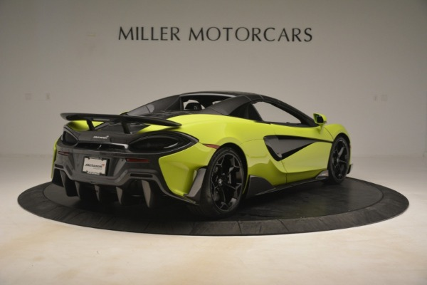 New 2020 McLaren 600LT SPIDER Convertible for sale $281,570 at Alfa Romeo of Greenwich in Greenwich CT 06830 6