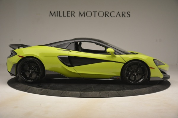 New 2020 McLaren 600LT Spider for sale $281,570 at Alfa Romeo of Greenwich in Greenwich CT 06830 7