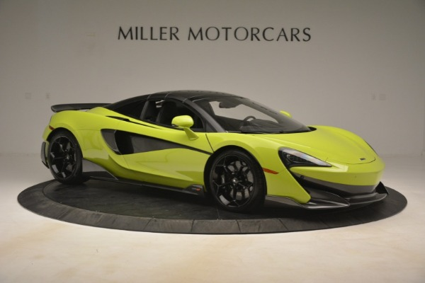New 2020 McLaren 600LT SPIDER Convertible for sale $281,570 at Alfa Romeo of Greenwich in Greenwich CT 06830 8