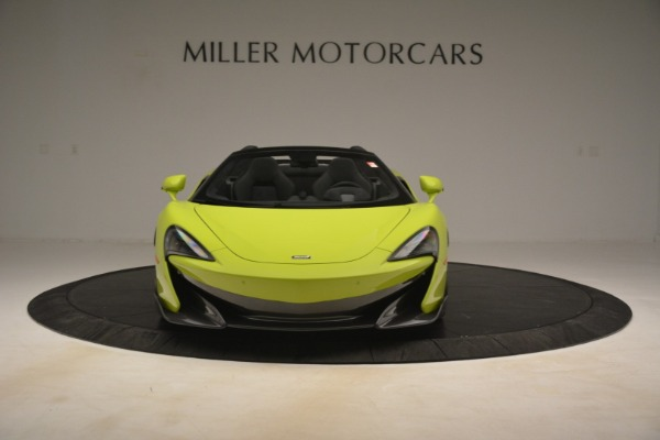 New 2020 McLaren 600LT Spider for sale $281,570 at Alfa Romeo of Greenwich in Greenwich CT 06830 9
