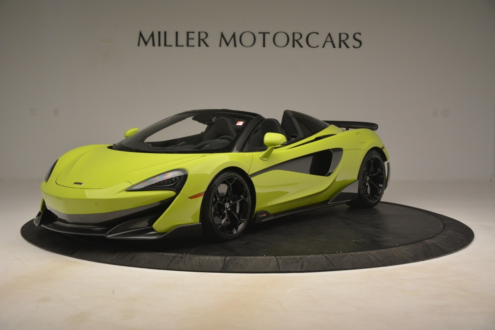 New 2020 McLaren 600LT Spider for sale $281,570 at Alfa Romeo of Greenwich in Greenwich CT 06830 1