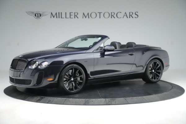 Used 2012 Bentley Continental GT Supersports for sale Sold at Alfa Romeo of Greenwich in Greenwich CT 06830 2