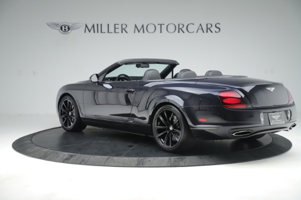 Used 2012 Bentley Continental GT Supersports for sale Sold at Alfa Romeo of Greenwich in Greenwich CT 06830 4