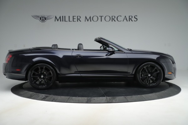 Used 2012 Bentley Continental GT Supersports for sale Sold at Alfa Romeo of Greenwich in Greenwich CT 06830 9