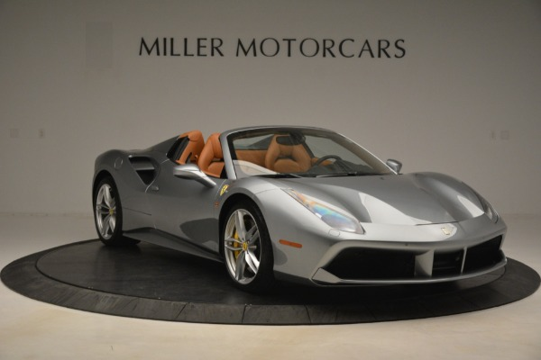 Used 2019 Ferrari 488 Spider for sale Sold at Alfa Romeo of Greenwich in Greenwich CT 06830 11