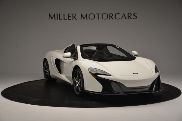 Used 2015 McLaren 650S Convertible for sale Sold at Alfa Romeo of Greenwich in Greenwich CT 06830 10