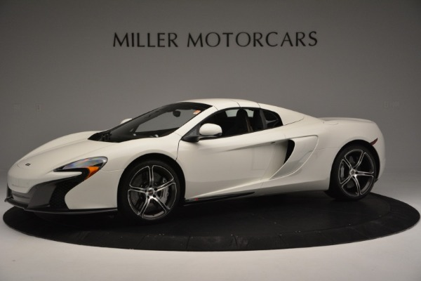 Used 2015 McLaren 650S Convertible for sale Sold at Alfa Romeo of Greenwich in Greenwich CT 06830 12