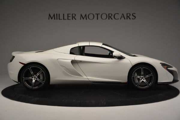 Used 2015 McLaren 650S Convertible for sale Sold at Alfa Romeo of Greenwich in Greenwich CT 06830 14