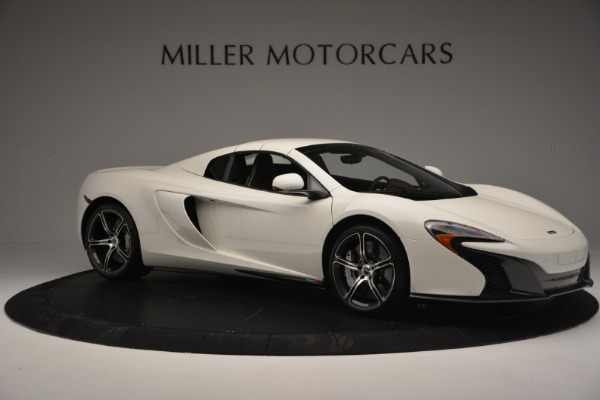 Used 2015 McLaren 650S Convertible for sale Sold at Alfa Romeo of Greenwich in Greenwich CT 06830 15