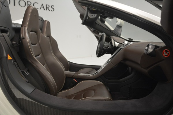 Used 2015 McLaren 650S Convertible for sale Sold at Alfa Romeo of Greenwich in Greenwich CT 06830 18