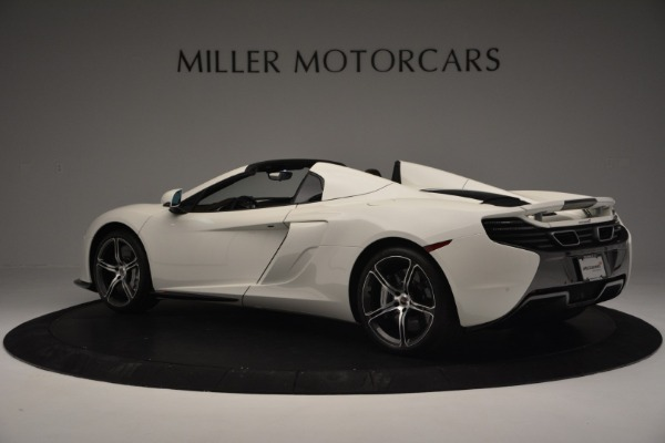 Used 2015 McLaren 650S Convertible for sale Sold at Alfa Romeo of Greenwich in Greenwich CT 06830 3