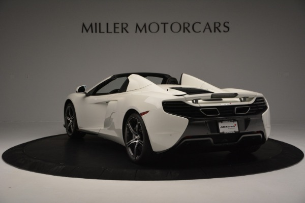 Used 2015 McLaren 650S Convertible for sale Sold at Alfa Romeo of Greenwich in Greenwich CT 06830 4