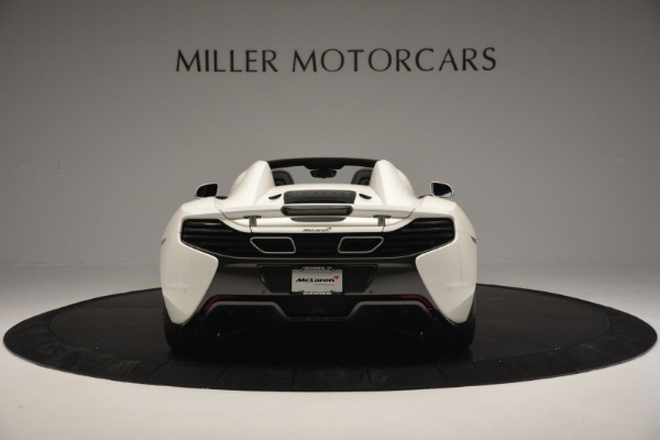 Used 2015 McLaren 650S Convertible for sale Sold at Alfa Romeo of Greenwich in Greenwich CT 06830 5