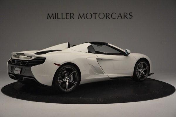 Used 2015 McLaren 650S Convertible for sale Sold at Alfa Romeo of Greenwich in Greenwich CT 06830 7