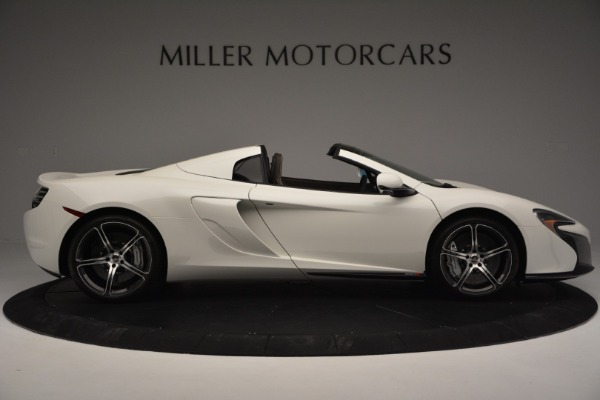 Used 2015 McLaren 650S Convertible for sale Sold at Alfa Romeo of Greenwich in Greenwich CT 06830 8