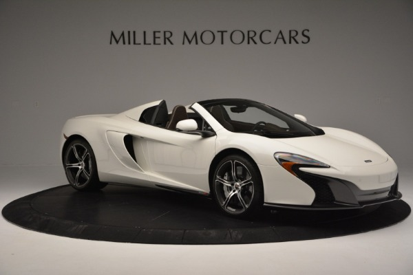 Used 2015 McLaren 650S Convertible for sale Sold at Alfa Romeo of Greenwich in Greenwich CT 06830 9