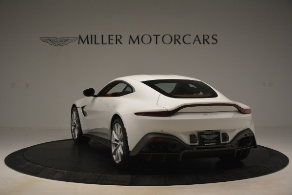 New 2019 Aston Martin Vantage Coupe for sale Sold at Alfa Romeo of Greenwich in Greenwich CT 06830 4