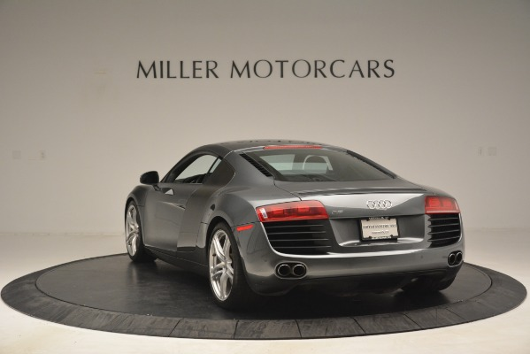 Used 2009 Audi R8 quattro for sale Sold at Alfa Romeo of Greenwich in Greenwich CT 06830 5
