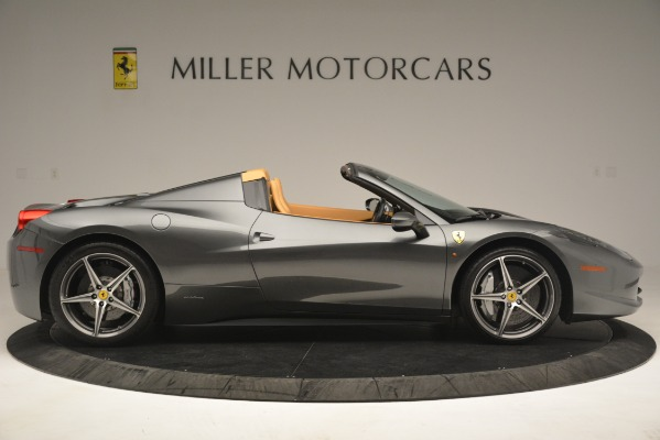 Used 2013 Ferrari 458 Spider for sale Sold at Alfa Romeo of Greenwich in Greenwich CT 06830 10
