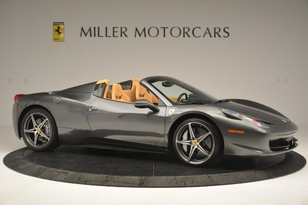 Used 2013 Ferrari 458 Spider for sale Sold at Alfa Romeo of Greenwich in Greenwich CT 06830 11