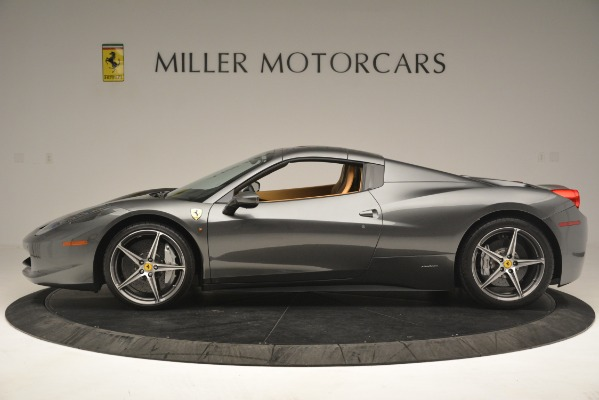 Used 2013 Ferrari 458 Spider for sale Sold at Alfa Romeo of Greenwich in Greenwich CT 06830 15