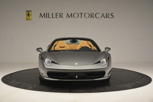 Used 2013 Ferrari 458 Spider for sale Sold at Alfa Romeo of Greenwich in Greenwich CT 06830 6