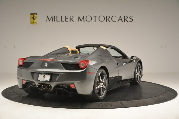 Used 2013 Ferrari 458 Spider for sale Sold at Alfa Romeo of Greenwich in Greenwich CT 06830 8
