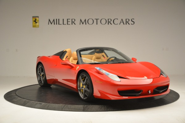 Used 2015 Ferrari 458 Spider for sale Sold at Alfa Romeo of Greenwich in Greenwich CT 06830 12