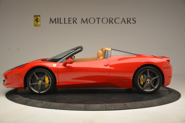 Used 2015 Ferrari 458 Spider for sale Sold at Alfa Romeo of Greenwich in Greenwich CT 06830 3