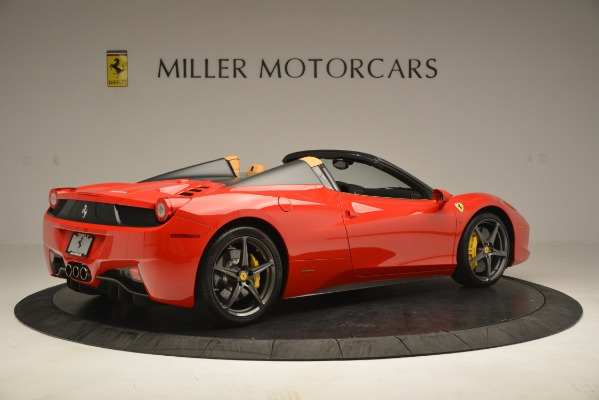 Used 2015 Ferrari 458 Spider for sale Sold at Alfa Romeo of Greenwich in Greenwich CT 06830 9