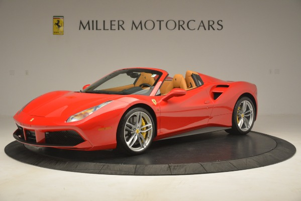 Used 2018 Ferrari 488 Spider for sale Sold at Alfa Romeo of Greenwich in Greenwich CT 06830 2