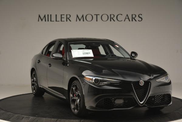New 2019 Alfa Romeo Giulia Ti Sport Q4 for sale Sold at Alfa Romeo of Greenwich in Greenwich CT 06830 11