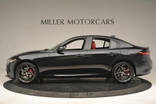 New 2019 Alfa Romeo Giulia Ti Sport Q4 for sale Sold at Alfa Romeo of Greenwich in Greenwich CT 06830 3