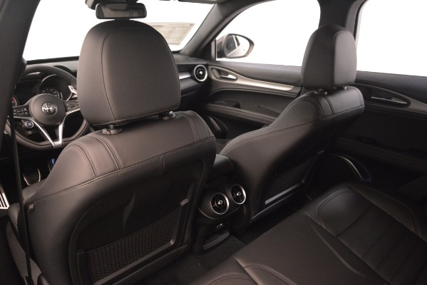 New 2019 Alfa Romeo Stelvio Ti Sport Q4 for sale Sold at Alfa Romeo of Greenwich in Greenwich CT 06830 20