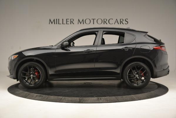 New 2019 Alfa Romeo Stelvio Ti Sport Q4 for sale Sold at Alfa Romeo of Greenwich in Greenwich CT 06830 3