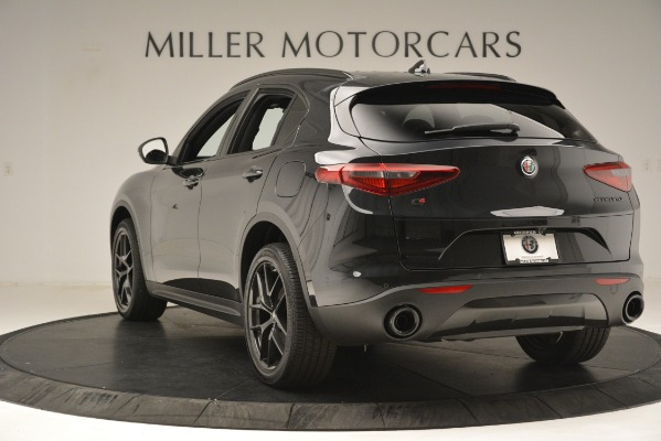 New 2019 Alfa Romeo Stelvio Ti Sport Q4 for sale Sold at Alfa Romeo of Greenwich in Greenwich CT 06830 5