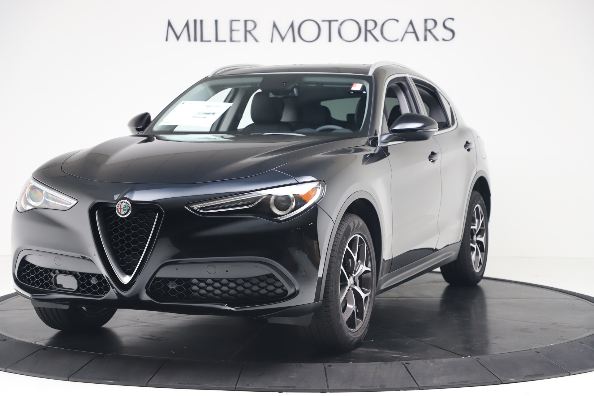 New 2019 Alfa Romeo Stelvio Ti Q4 for sale Sold at Alfa Romeo of Greenwich in Greenwich CT 06830 1