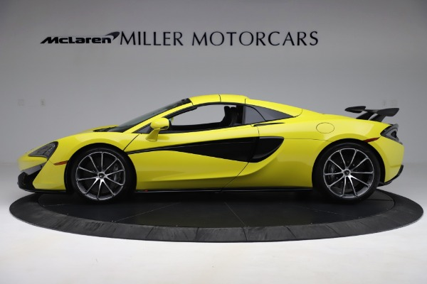 New 2019 McLaren 570S SPIDER Convertible for sale $227,660 at Alfa Romeo of Greenwich in Greenwich CT 06830 10