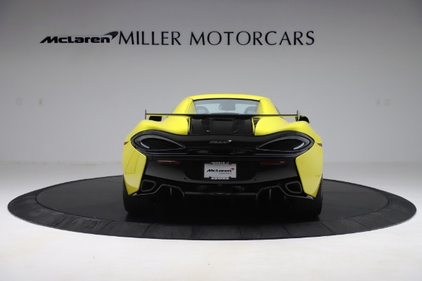 New 2019 McLaren 570S SPIDER Convertible for sale $227,660 at Alfa Romeo of Greenwich in Greenwich CT 06830 12
