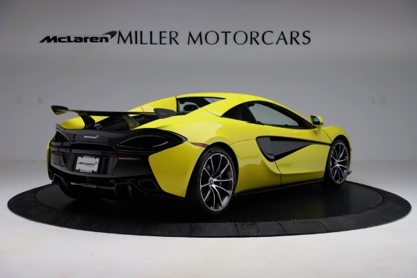 New 2019 McLaren 570S SPIDER Convertible for sale $227,660 at Alfa Romeo of Greenwich in Greenwich CT 06830 13