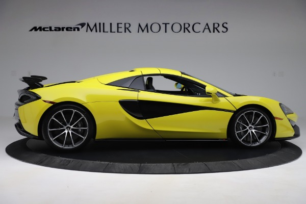 New 2019 McLaren 570S SPIDER Convertible for sale $227,660 at Alfa Romeo of Greenwich in Greenwich CT 06830 14