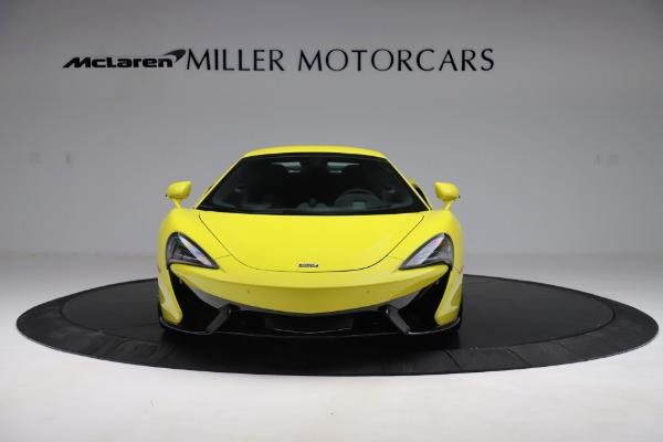 New 2019 McLaren 570S SPIDER Convertible for sale $227,660 at Alfa Romeo of Greenwich in Greenwich CT 06830 16