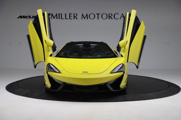 New 2019 McLaren 570S SPIDER Convertible for sale $227,660 at Alfa Romeo of Greenwich in Greenwich CT 06830 17