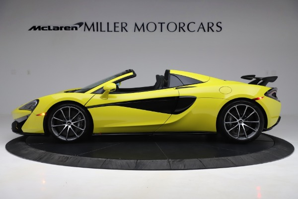 New 2019 McLaren 570S SPIDER Convertible for sale $227,660 at Alfa Romeo of Greenwich in Greenwich CT 06830 2