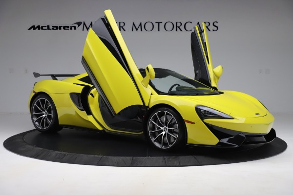 New 2019 McLaren 570S SPIDER Convertible for sale $227,660 at Alfa Romeo of Greenwich in Greenwich CT 06830 22