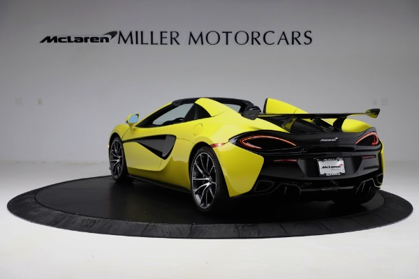 New 2019 McLaren 570S SPIDER Convertible for sale $227,660 at Alfa Romeo of Greenwich in Greenwich CT 06830 3