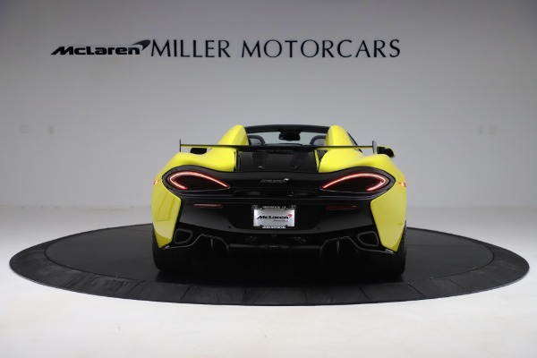 New 2019 McLaren 570S SPIDER Convertible for sale $227,660 at Alfa Romeo of Greenwich in Greenwich CT 06830 4