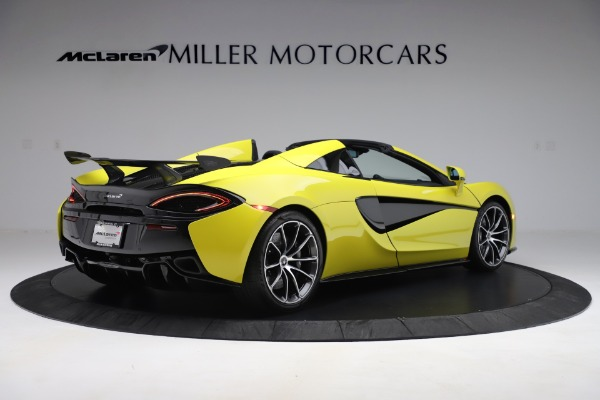 New 2019 McLaren 570S SPIDER Convertible for sale $227,660 at Alfa Romeo of Greenwich in Greenwich CT 06830 5