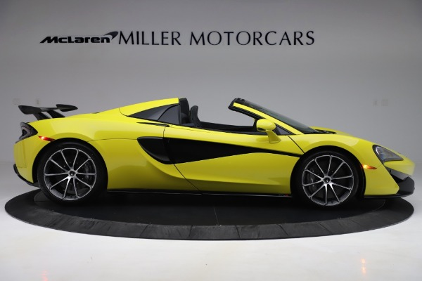 New 2019 McLaren 570S SPIDER Convertible for sale $227,660 at Alfa Romeo of Greenwich in Greenwich CT 06830 6