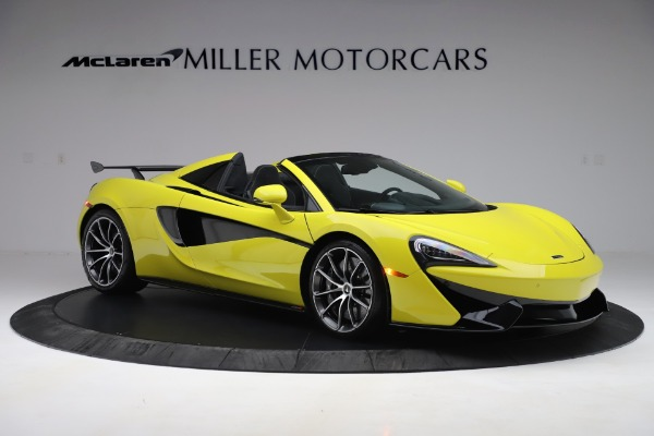 New 2019 McLaren 570S SPIDER Convertible for sale $227,660 at Alfa Romeo of Greenwich in Greenwich CT 06830 7